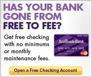 Bank Promotions to open a new checking account Online