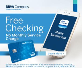 bank of the west free checking minimum balance